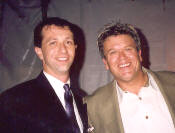 Marc Nelson of the Richard De La Font Agency with Ron White
