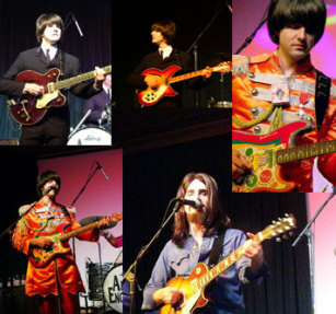 Doug Couture as George Harrison