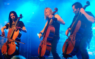 Apocalyptica -- booking information