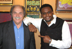 Richard De La Font with Carl Thomas