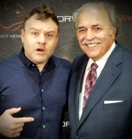 Frank Caliendo with Richard De La Font