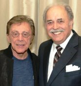 Frankie Valli with Richard De La Font