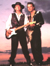 Stevie Ray Vaughan with Jimmie Vaughan - booking information
