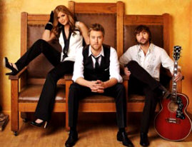 Lady Antebellum - booking information