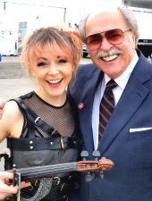 Lindsey Stirling with Richard De La Font