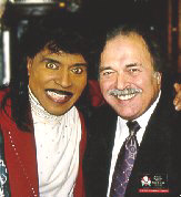 Little Richard with Richard De La Font