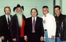 Richard De La Font with the Oak Ridge Boys - booking information