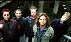 Pearl Jam - booking information
