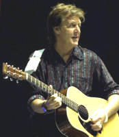 Paul McCartney - booking information