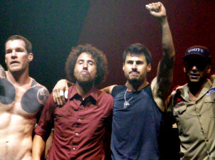 Rage Against The Machine - booking information