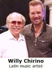 Richard De La Font with Willy Chirino