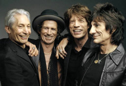 The Rolling Stones - booking information