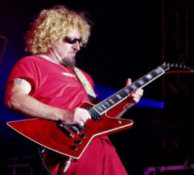 Sammy Hagar - booking information