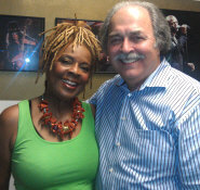 Thelma Houston with Richard De La Font