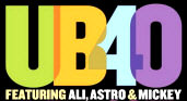 UB40 featuring Ali, Astro and Mickey - booking information
