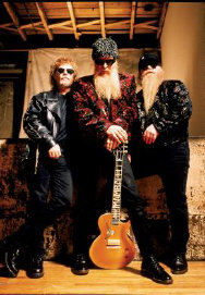 ZZ Top - booking information